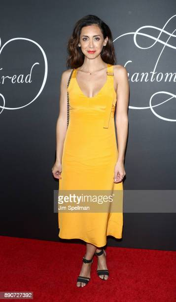 Actress Mozhan Marno attends the 'Phantom Thread' New York premiere at Harold Pratt House on December 11 2017 in New York City