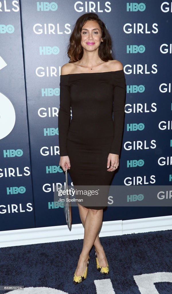 Actress Mozhan Marno attends the the New York premiere of the sixth and final season of 'Girls' at Alice Tully Hall, Lincoln Center on February 2, 2017 in New York City.
