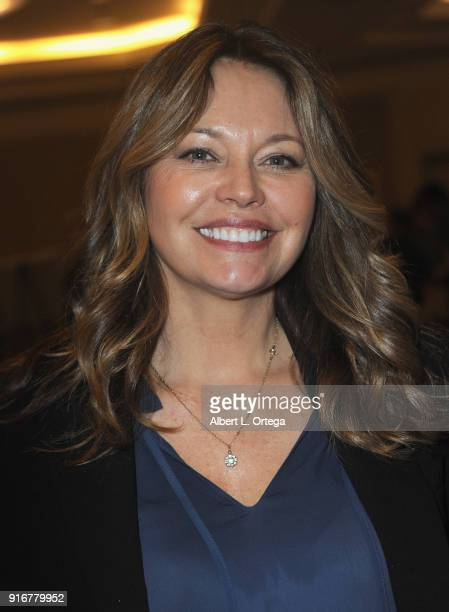 Actress Musetta Vander attends The Hollywood Show held at Westin LAX Hotel on February 10 2018 in Los Angeles California