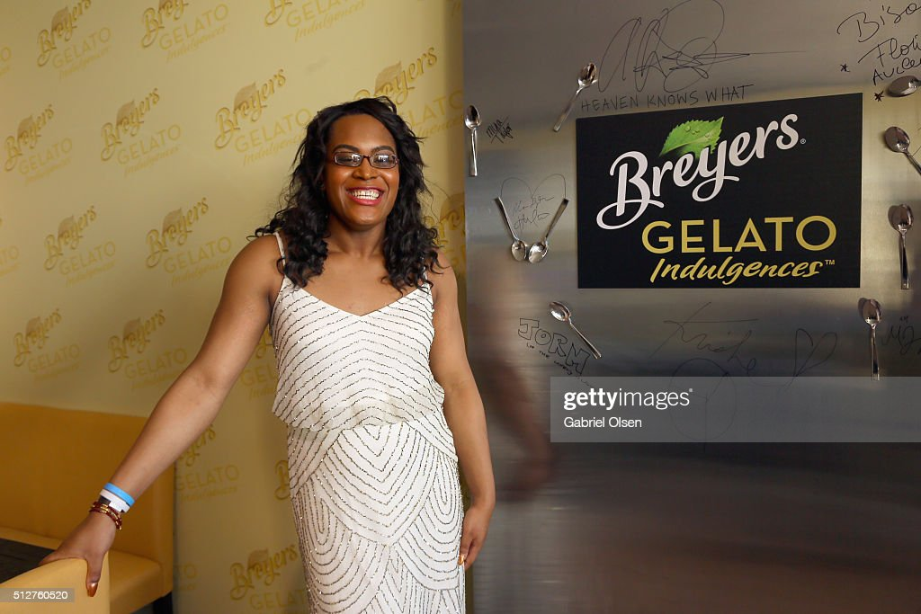 Actress Mya Taylo stopped by the Breyers Gelato Indulgences Hospitality Lounge backstage at the 2016 Film Independent Spirit Awards on February 27, 2016 in Santa Monica, California. Breyers Gelato Indulgences features a delicious trio of textures, including rich creamy gelato, luscious sauce and gourmet topping, and is available in grocery stores nationwide.