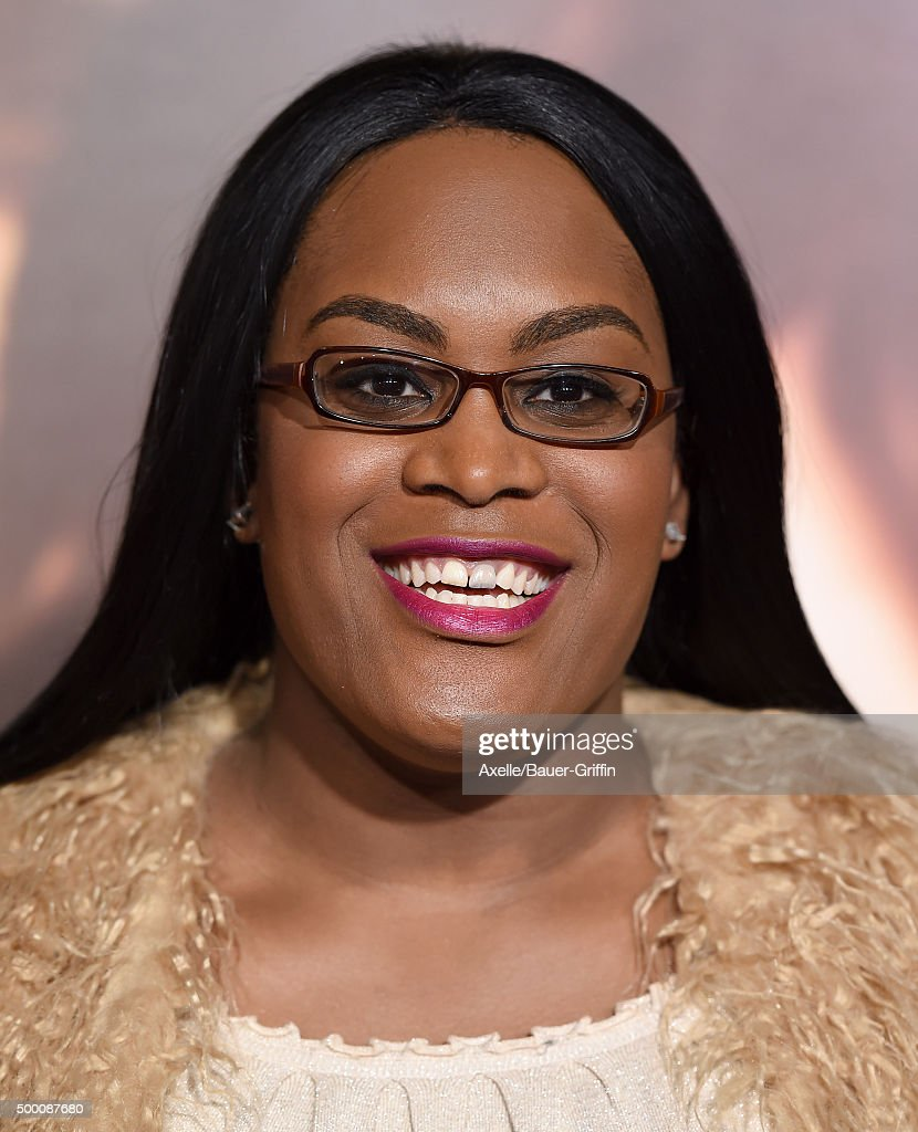 Actress Mya Taylor arrives at the premiere of Focus Features' 'The Danish Girl' at Westwood Village Theatre on November 21, 2015 in Westwood, California.