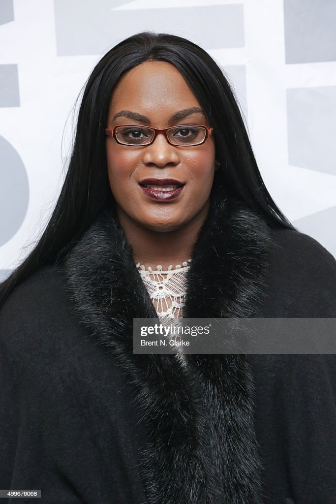 Actress Mya Taylor attends the 'Tangerine' New York special screening held at the MoMA Titus One on December 2, 2015 in New York City.