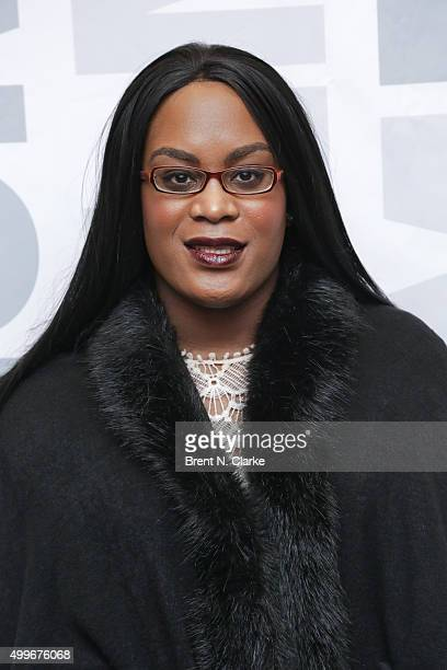 Actress Mya Taylor attends the Tangerine New York special screening held at the MoMA Titus One on December 2 2015 in New York City