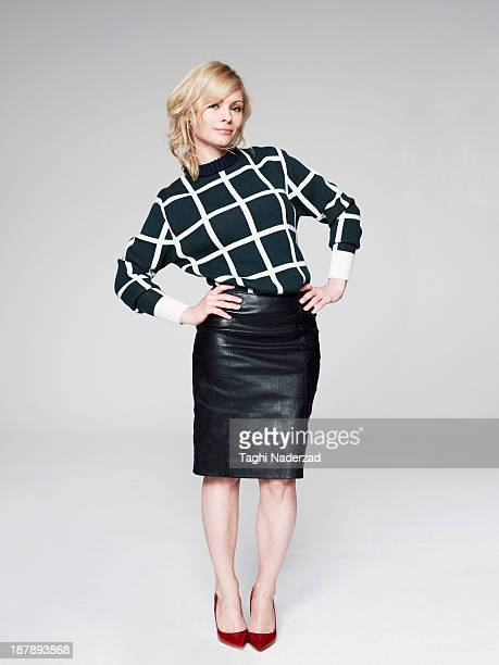 Actress MyAnna Buring is photographed for Red Magazine UK on July 19 2013 in London England