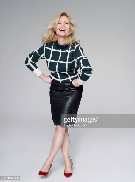 Actress MyAnna Buring is photographed for Red Magazine UK on July 19 2013 in London England PUBLISHED IMAGE