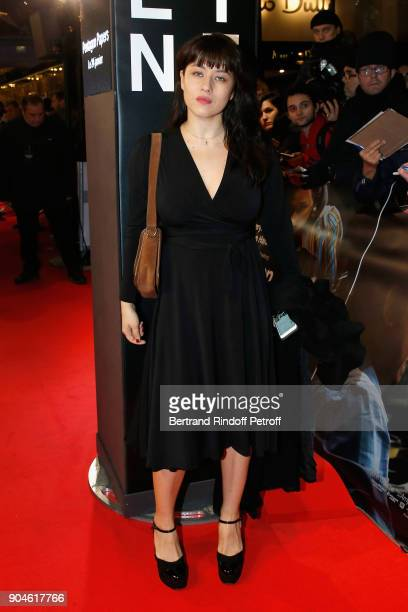 Actress Mylene Jampanoi attends the 'Pentagon Papers' Paris Premiere at Cinema UGC Normandie on January 13 2018 in Paris France