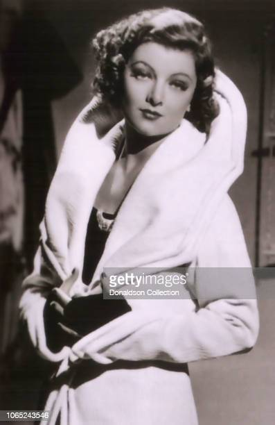Actress Myrna Loy in a scene from the movie Evelyn Prentice