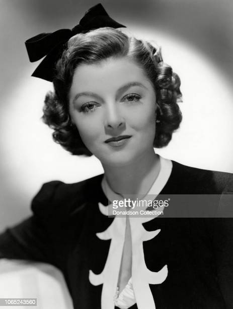 Actress Myrna Loy in a scene from the movie I Love You Again
