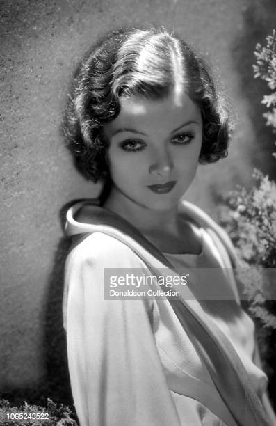 Actress Myrna Loy in a scene from the movie The Animal Kingdom