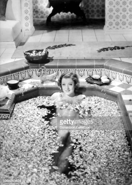 Actress Myrna Loy in a scene from the movie The Barbarian