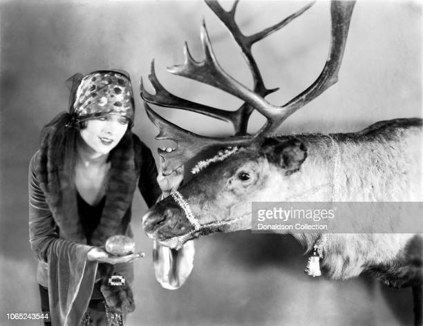 Actress Myrna Loy in a scene from the movie The City of Sin