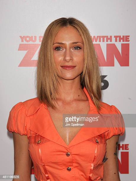 You Dont Mess With The Zohan New York Premiere Stock ... Naama Nativ