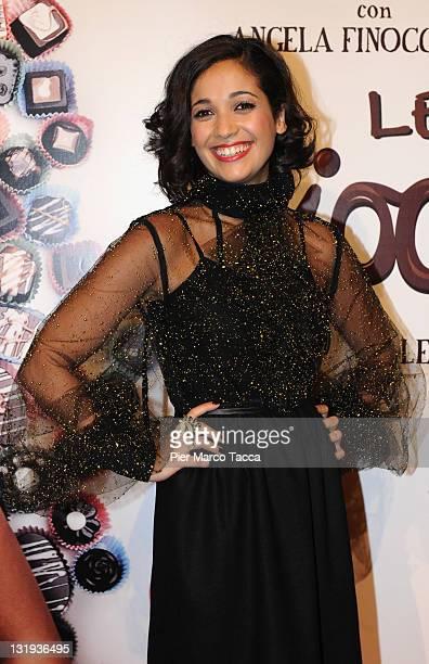 Actress Nabiha Akkari attends 'Lezioni Di Cioccolato 2' Milan photocall held at Cinema Colosseo on November 8 2011 in Milan Italy