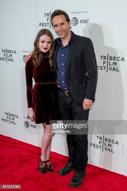 Actress Nadia Alexander and Best Actor Winner Alessandro Nivola attend the Tribeca Awards Night Êduring the 2017 Tribeca Film Festival at BMCC...