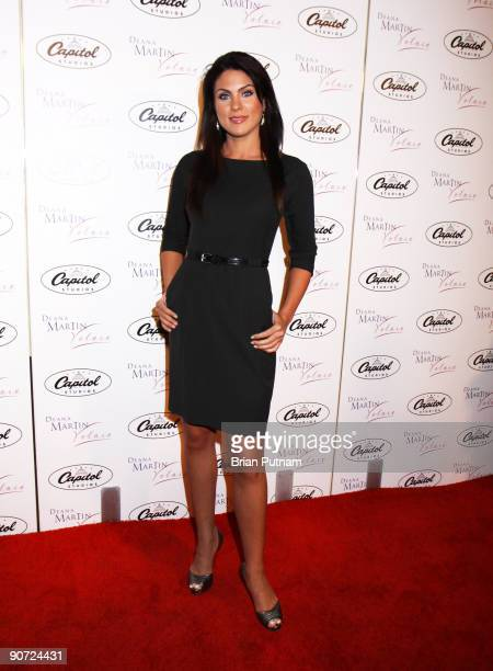 Actress Nadia Bjorlin arrives to Deana Martin CD Release Party at Capitol Records Studio on September 9 2009 in Hollywood California