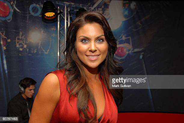 Actress Nadia Bjorlin at The GRAMMY Museum on October 22 2009 in Los Angeles California