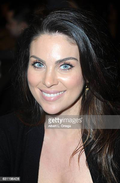 Actress Nadia BJorlin attends The Hollywood Show held at The Westin Los Angeles Airport on January 7 2017 in Los Angeles California