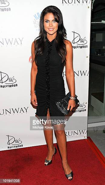 Actress Nadia Bjorlin attends the Runway Magazine Summer 2010 Issue Release Party at Drai's Hollywood on June 9 2010 in Hollywood California