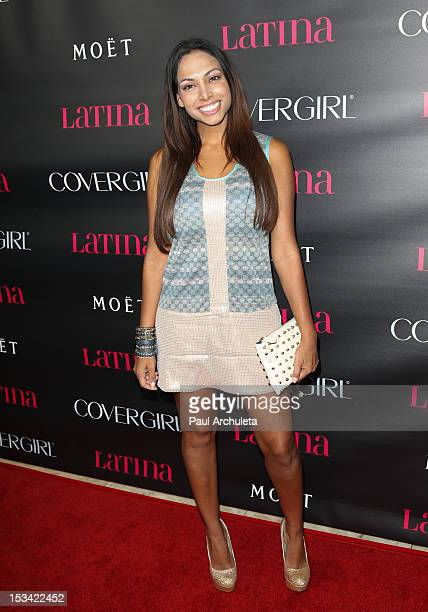 Actress Nadia Dawn attends the Latina Magazine 'Latinos In Hollywood' party at The London Hotel on October 4 2012 in West Hollywood California