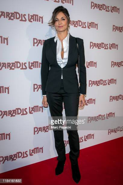 Actress Nadia Fares attends the L'Oiseau Paradis show at Le Paradis Latin on June 06, 2019 in Paris, France.