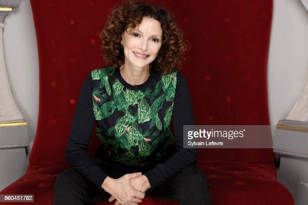 Actress Nadia Kaci is photographed for Self Assignment on October 3 2017 in Namur France