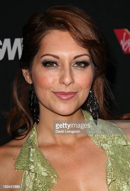 Actress Nadia Lanfranconi attends the 5th Annual Sunset Strip Music Festival's official VIP party hosted by Virgin America Black Star Beer at SkyBar...