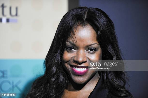 Actress Nadine Ellis attends Essence Magazine's 5th Annual Black Women In Music Event at 1 OAK on January 22 2014 in West Hollywood California