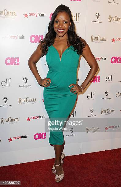 Actress Nadine Ellis attends OK Magazine's So Sexy LA Event at LURE on May 21 2014 in Los Angeles California