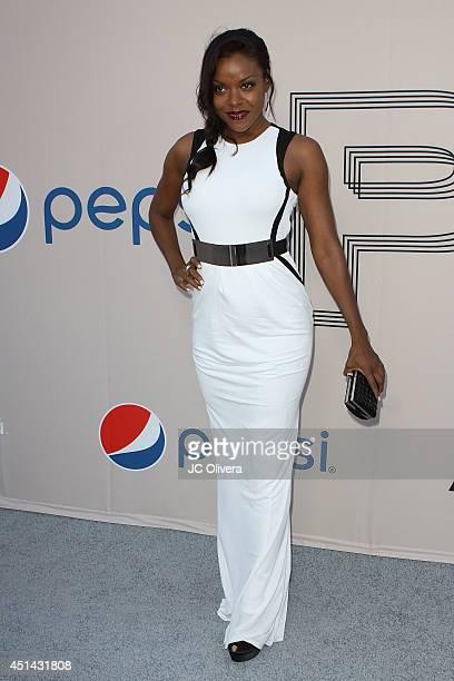 Actress Nadine Ellis attends PRE BET Awards Dinner at Milk Studios on June 28 2014 in Hollywood California