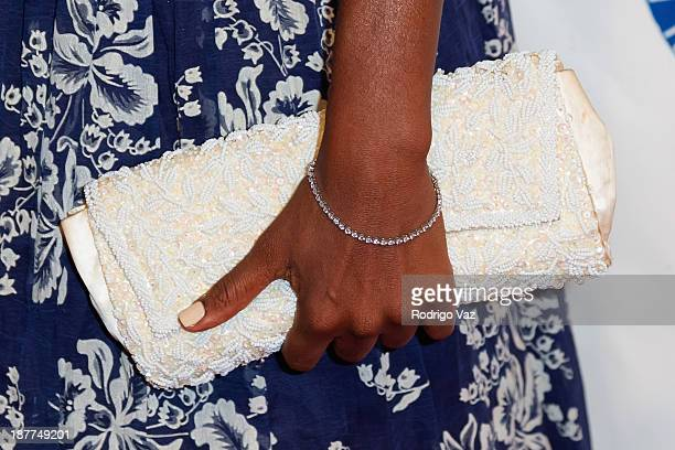 Actress Nadine Ellis attends the 23rd Annual NAACP Theatre Awards at Saban Theatre on November 11 2013 in Beverly Hills California