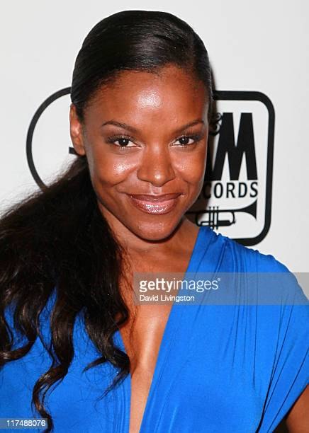 Actress Nadine Ellis attends the 5th anniversary Creme of the Crop post BET Awards Dinner Celebration at Mr Chow on June 26 2011 in Beverly Hills...