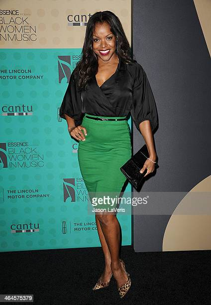 Actress Nadine Ellis attends the 5th annual Essence Black Women In Music event at 1 OAK on January 22 2014 in West Hollywood California