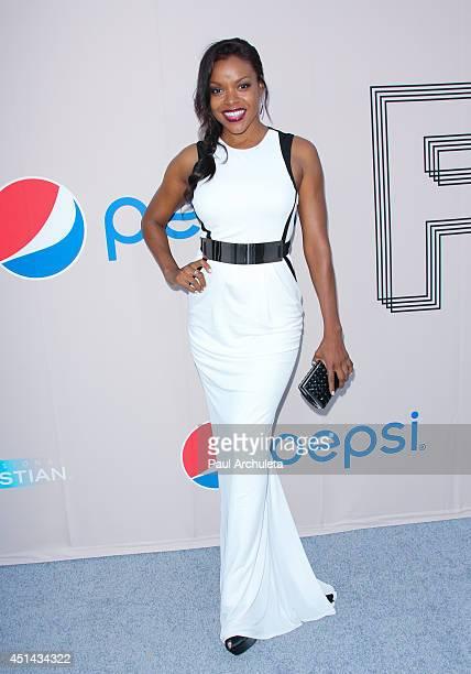 Actress Nadine Ellis attends the Pre BET Awards Dinner at Milk Studios on June 28 2014 in Los Angeles California