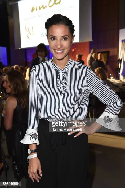Actress Nadine Menz attends the Pre Golf Party during the 9th Golf Charity Cup hosted by the Christoph Metzelder Foundation on May 20 2017 in...