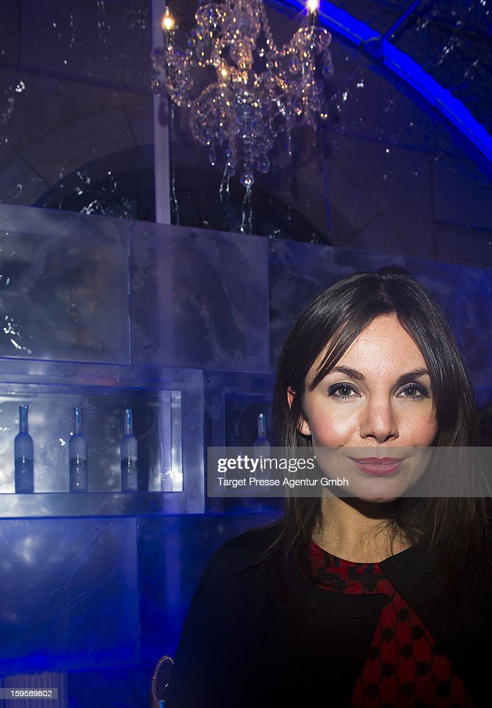 Actress Nadine Warmuth attends the Belvedere Ice Lounge during the Mercedes-Benz Fashion Week Autumn/Winter 2013/14 on January 16, 2013 in Berlin, Germany.