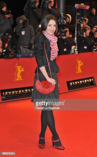 Actress Nadine Warmuth attends the 'Shutter Island' Premiere during day three of the 60th Berlin International Film Festival at the Berlinale Palast...