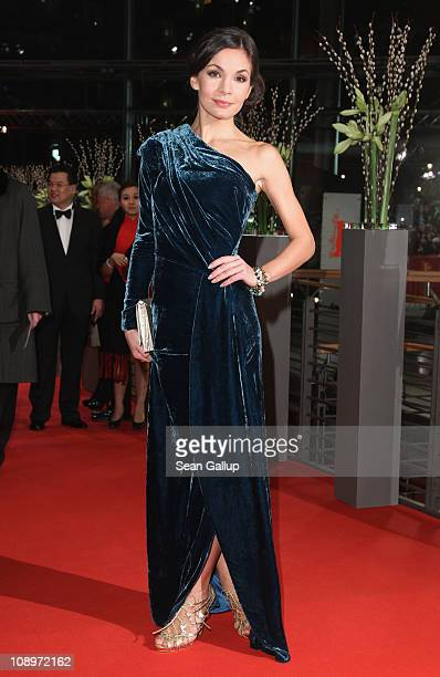 Actress Nadine Warmuth attends the 'True Grit' Premiere during the opening day of the 61st Berlin International Film Festival at Berlinale Palace on...