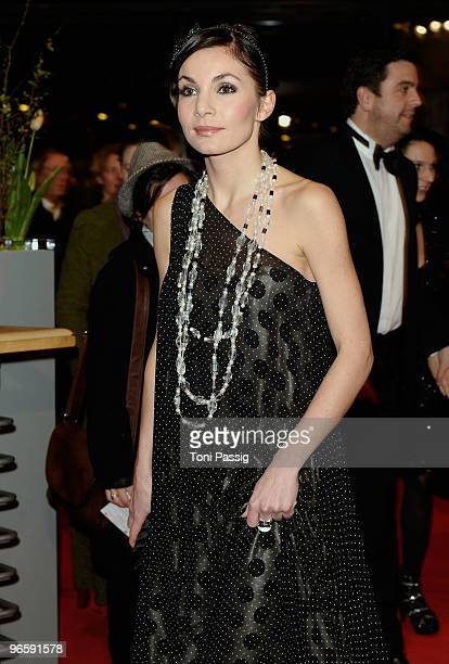 Actress Nadine Warmuth attends the 'Tuan Yuan' Premiere during day one of the 60th Berlin International Film Festival at the Berlinale Palast on...