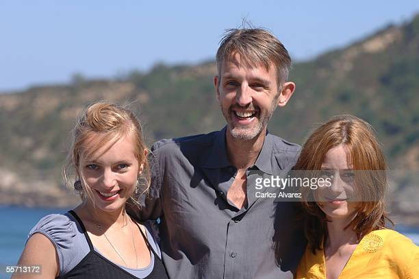"""Actress Nadja Uhl , actor Andreas Scmidt and actress Inka Friedrich attend the photocall for """"Summer in Berlin"""" on the fourth day of the 53rd San..."""