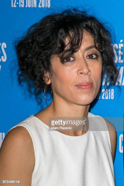 Actress Naidra Ayadi attends the 7th Champs Elysees Film Festival at Cinema Gaumont Marignan on June 12 2018 in Paris France