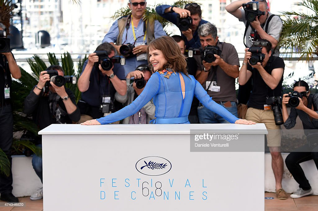 Actress Nailea Norvind attends the 'Chronic' Photocall during the 68th annual Cannes Film Festival on May 22, 2015 in Cannes, France.