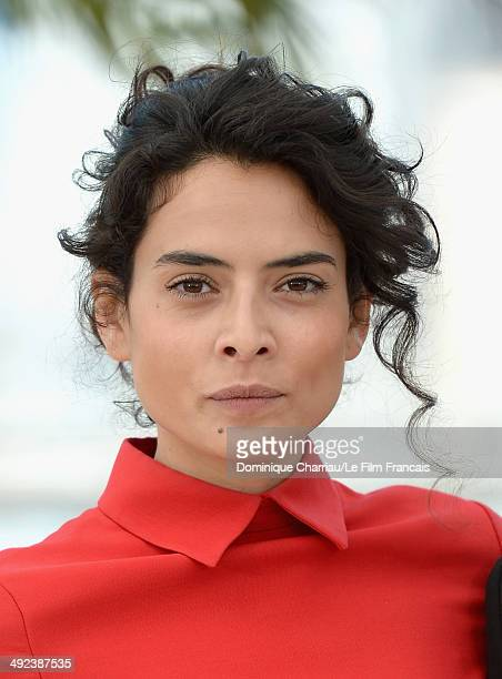Actress Nailia Harzoune attends the Geronimo photocall at the 67th Annual Cannes Film Festival on May 20 2014 in Cannes France