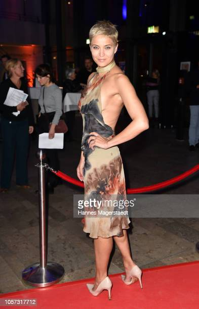 Actress Najet Korel during the 8th German Director Award Metropolis at HFF Munich at HFF Muenchen on November 4 2018 in Munich Germany