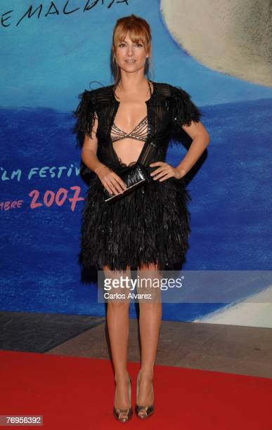 "Actress Najwa Nimri attends ""Mataharis"" Premiere during 55th San Sebastian Film Festival on September 21, 2007 at Kursaal Palace in San Sebastian,..."