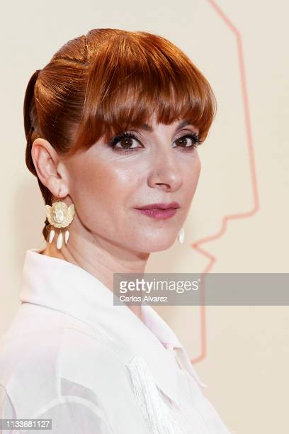 Actress Najwa Nimri attends the Fotogramas Awards 2019 at Florida Park Club on March 04, 2019 in Madrid, Spain.