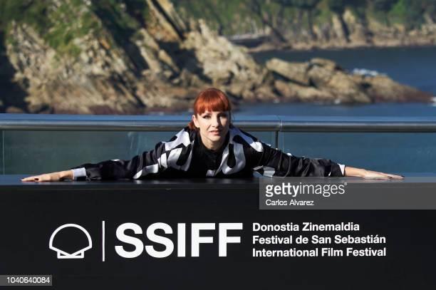 Actress Najwa Nimri attends the 'Quien Te Cantara' photocall during the 66th San Sebastian International Film Festival on September 26 2018 in San...