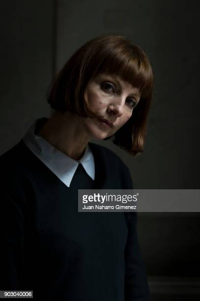 Actress Najwa Nimri poses during a portrait session on December 15 2016 in Madrid Spain