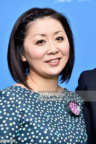 Actress Nami Kamata attends the 'Gruesse aus Fukushima' photo call during the 66th Berlinale International Film Festival Berlin at Grand Hyatt Hotel...