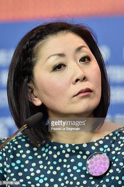Actress Nami Kamata attends the 'Gruesse aus Fukushima' press conference during the 66th Berlinale International Film Festival Berlin at Grand Hyatt...