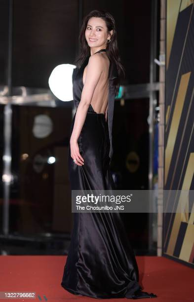 Actress Nana attends a photo call of 2019 KBS Drama Awards at KBS Building on December 31, 2019 in Seoul, South Korea.